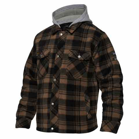 Checked Fleece Jacket - Servicematters